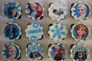 Frozen Cupcakes Deurne Mammarina Close Up