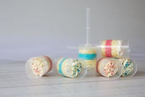 Lekkernij babyshower push up pop